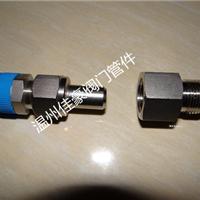 不锈钢压力仪表气源1/2NPT-M20*1.5转换接头