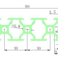 供应3090工业铝型材