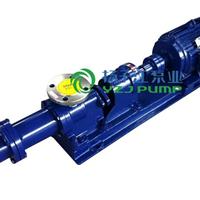 供应螺杆泵:I-1B型防爆不锈钢浓浆泵