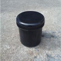 供应500克黑色锡膏罐子 锡膏瓶子装水150ml