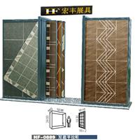 供应优惠定制推拉门瓷砖展柜,双面贴砖展示