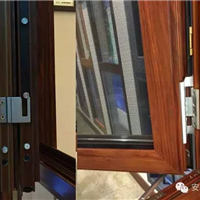 全国直销断桥窗型材金刚网一体窗型材可定制