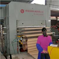 青岛国森机械制造高质量竹凉席草席压布机