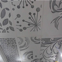供应直销镂空雕刻墙体装饰铝型建材