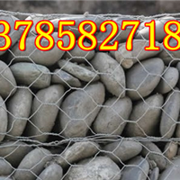 格宾网河道应用 生态格网 堤防宾格网笼 PVC格宾石笼网箱