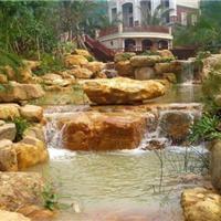 广东哪里有园林绿化常用黄蜡石、景观石报价、广东省德鑫景观石场