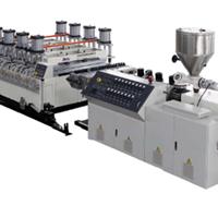 供应PVC木塑建筑模板生产线-金纬片板设备制造