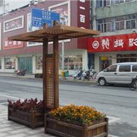 道路花坛|仿木花坛|仿木铝型材